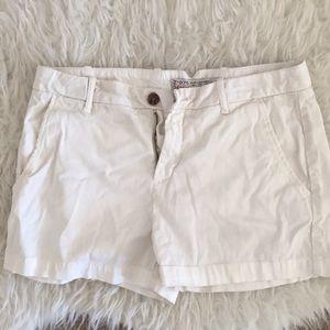 Pants - Zara white Bermuda  pants shorts
